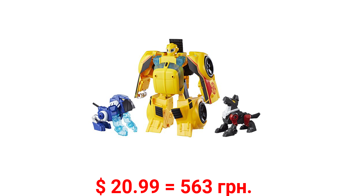 Transformers Rescue Bots Bumblebee Rescue Guard 10-Inch Robot Action Figure