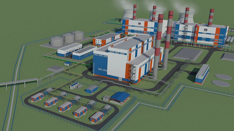 Новую ТЭЦ-4 в Хабаровске начнут строить в 2021 году