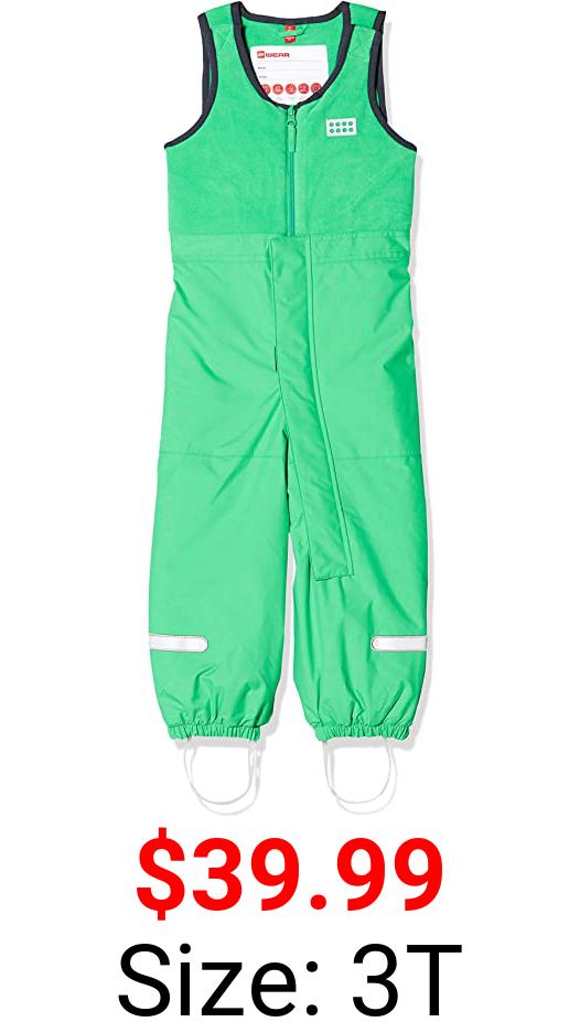 LEGO Wear unisex-child Bib Ski Pants With Adjustable Suspenders