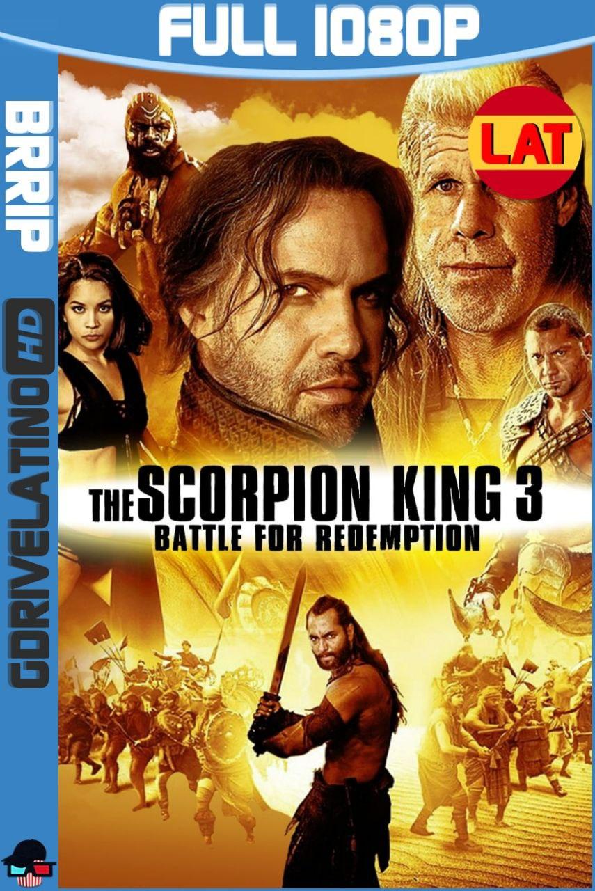 El Rey Escorpión 3: Batalla por la Redención (2012) Full HD BRRip 1080p Latino-Ingles MKV