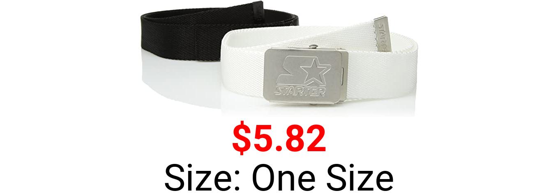 Starter Men's 2-Pack Web Belt