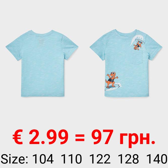 Dino - Kurzarmshirt - Bio-Baumwolle