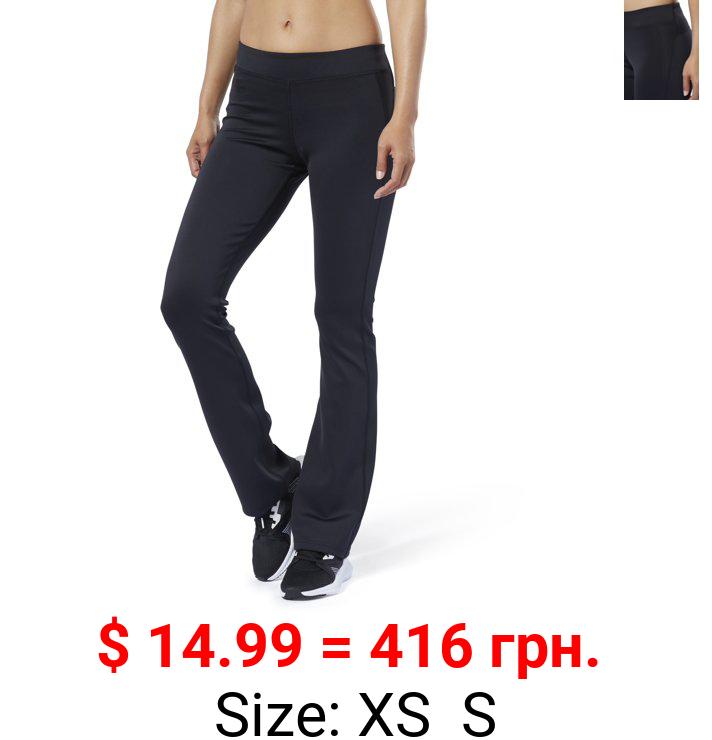 Reebok Workout Ready Boot-Cut Pants