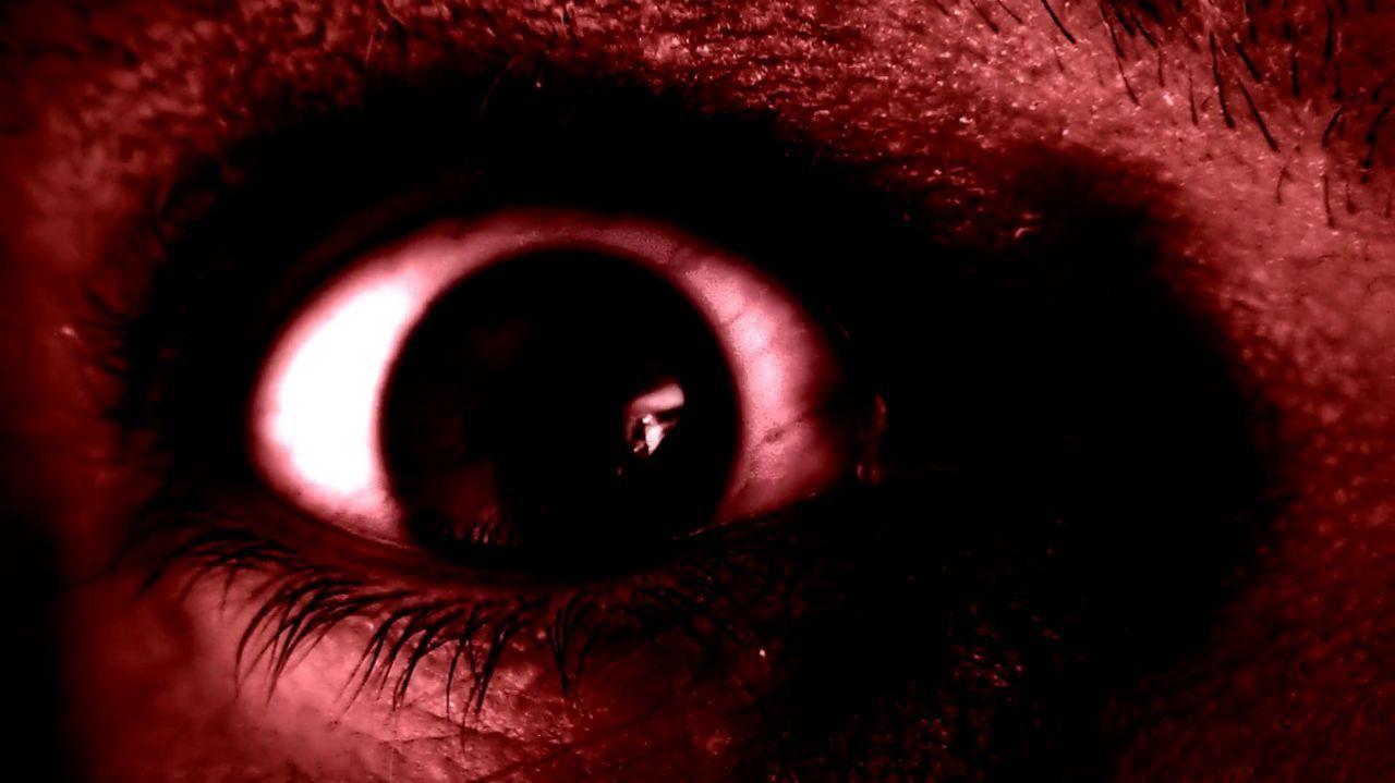Страшные картинки виде глаза