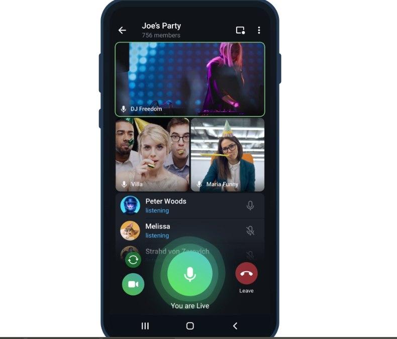 Telegram 7.9 (Android и iOS)