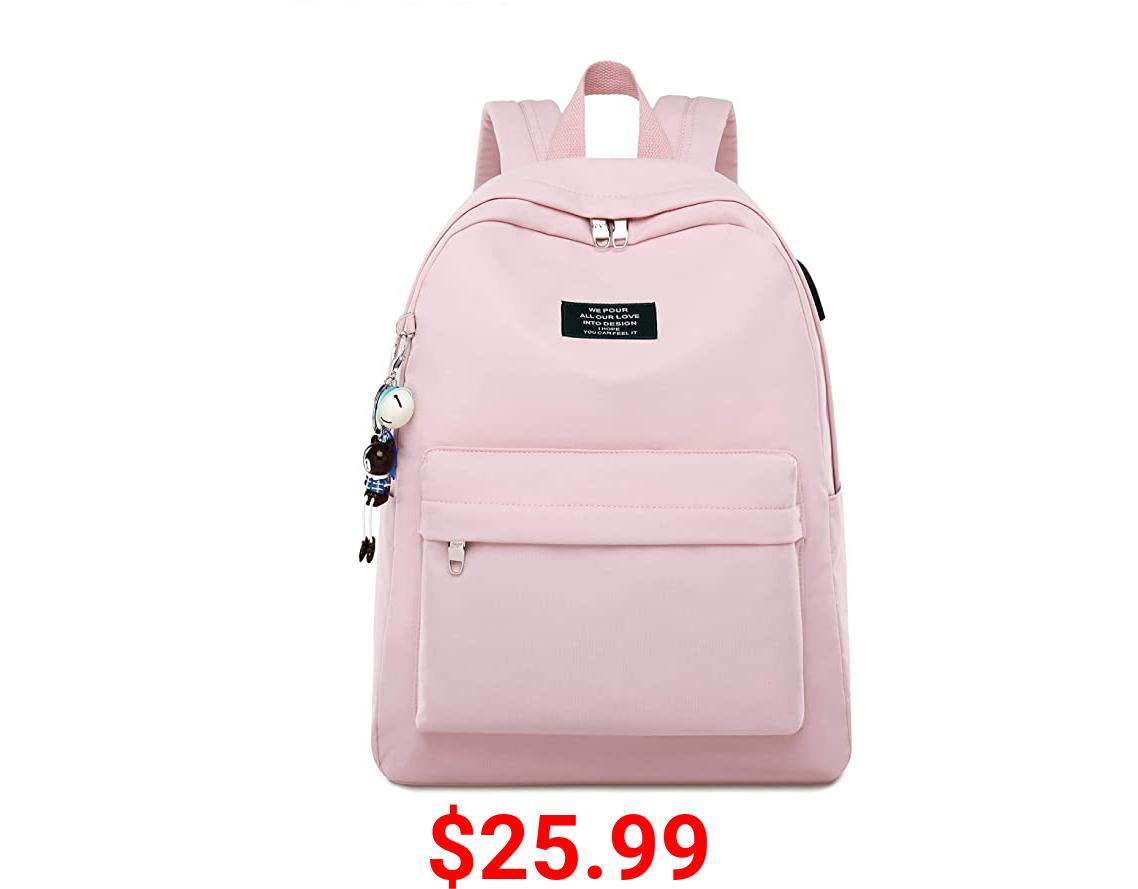 ALLYOUGER School Backpacks,Schoolbag Water Resistant,Nonfading for Girls,Student…