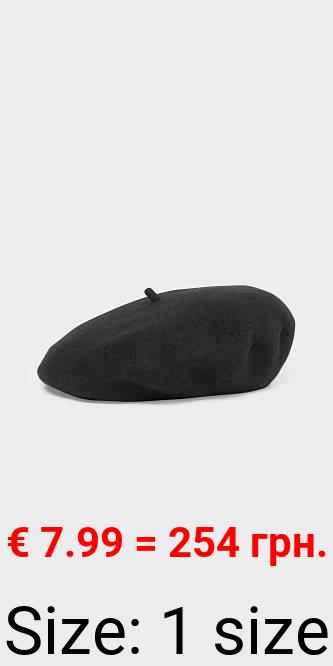 Woll-Baskenmütze