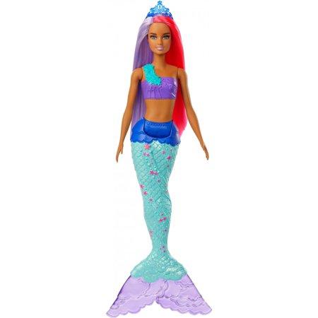 Barbie Dreamtopia Mermaid Doll, 12-Inch, Pink and Purple Hair