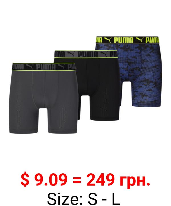 Men's Sportstyle Boxer Briefs [3 Pack]