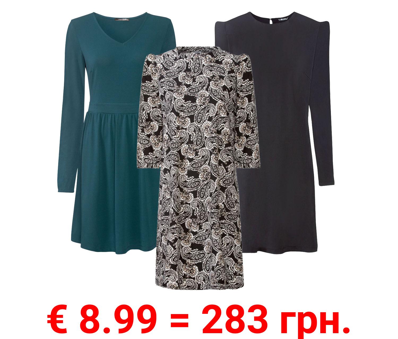 ESMARA® Damen Kleid, tailliert geschnitten