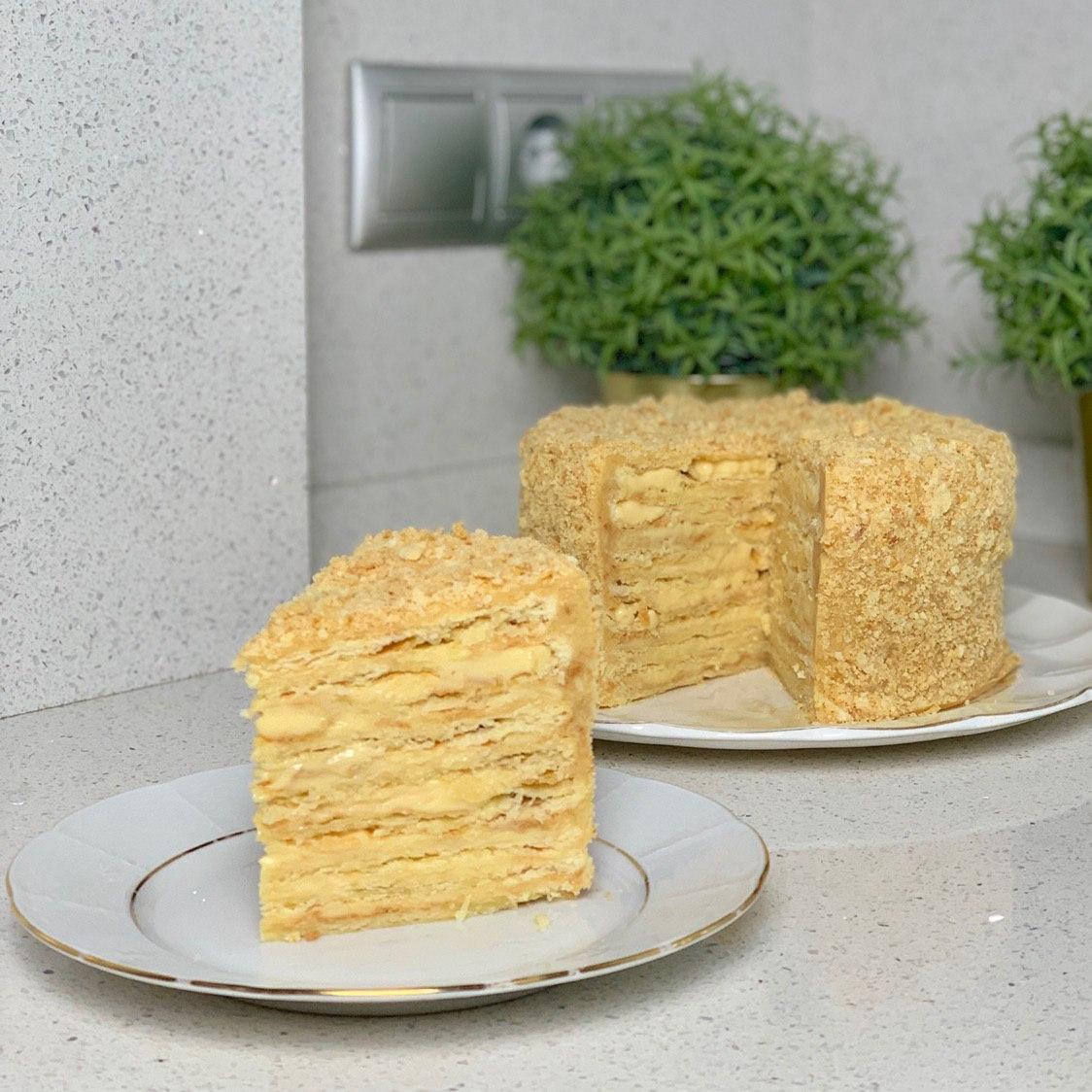 как готовить настоящий наполеон рецепт с фото
