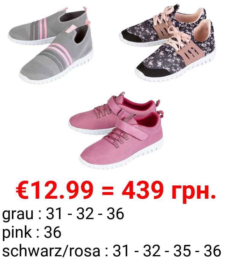 PEPPERTS® Kinder Sneaker Mädchen, mit Barfußtechnologie