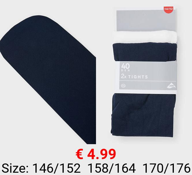 Multipack 2er - Feinstrumpfhose - 40 DEN