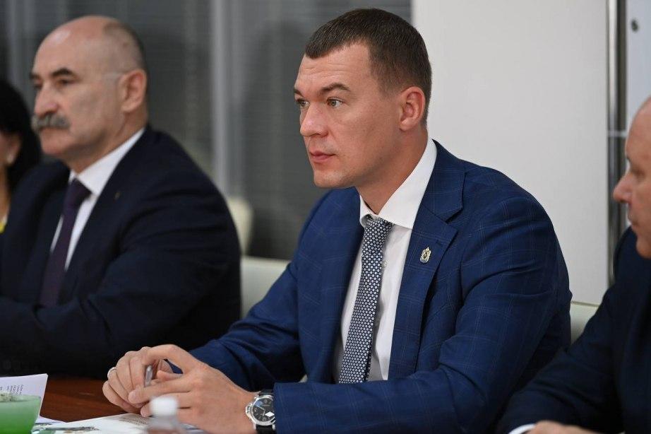 Дегтярев возглавит оргкомитет по подготовке и проведению 165-летия Хабаровска