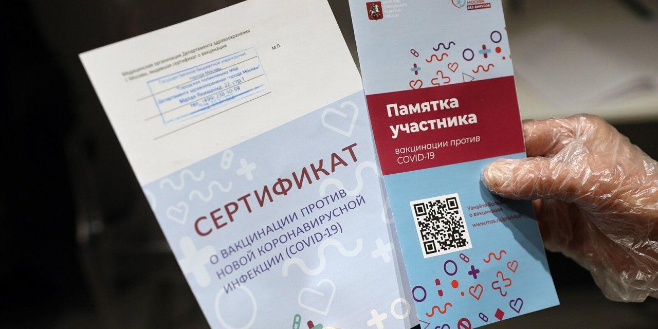 В Хабаровске задержали продавца поддельных сертификатов о вакцинации от COVID-19