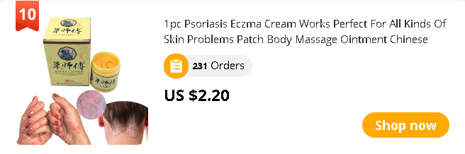 1pc Psoriasis Eczma Cream Works Perfect For All Kinds Of Skin Problems Patch Body Massage Ointment Chinese herbal Medicine