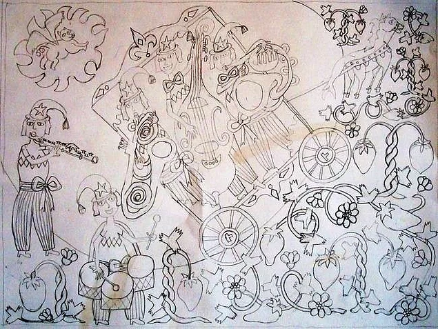 Illustrations 10 karen may sorensen drew this one when she was pushing the boundaries of madness solutioingenieria Choice Image