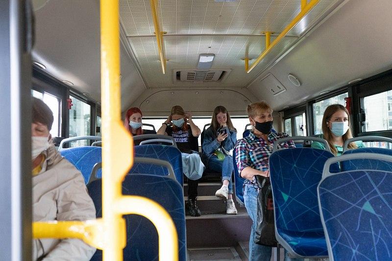 В связи с репетиций парада изменится движение общественного транспорта