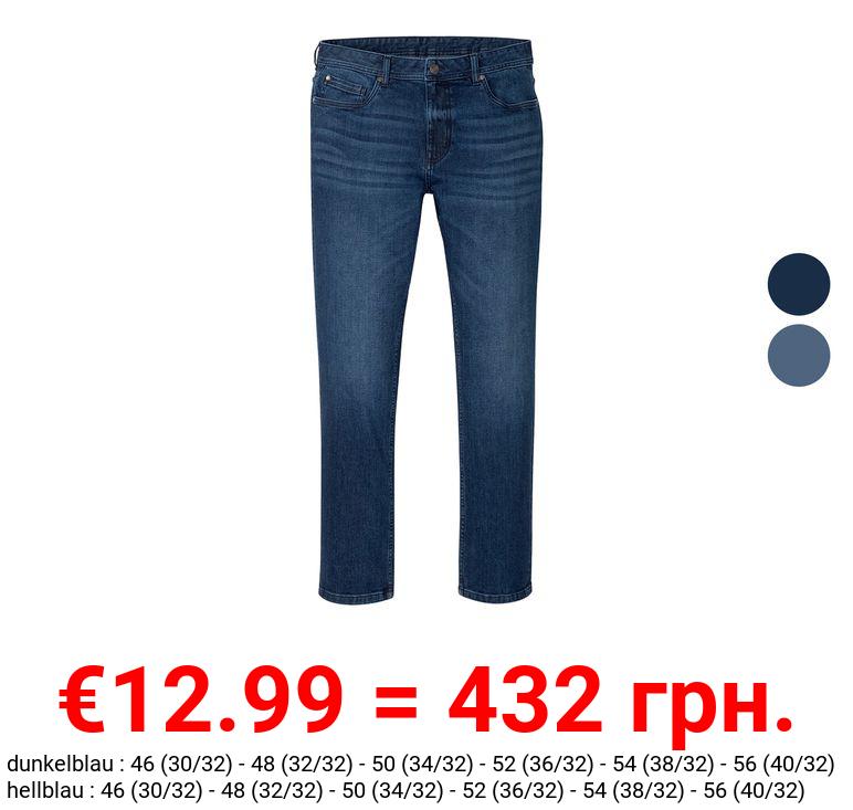 LIVERGY® Jeans Herren, im 5-Pocket-Style