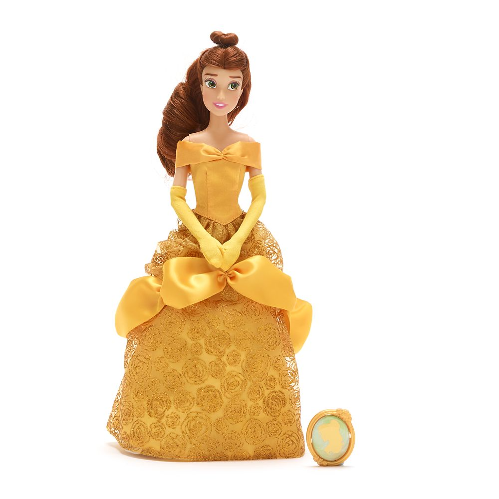Belle Classic Doll with Pendant – 11 1/2''