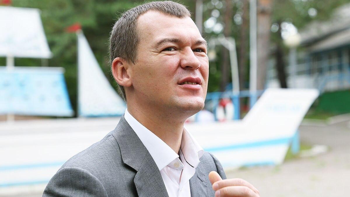 Суд отложил уголовное дело против врио губернатора Хабаровского края Дегтярёва