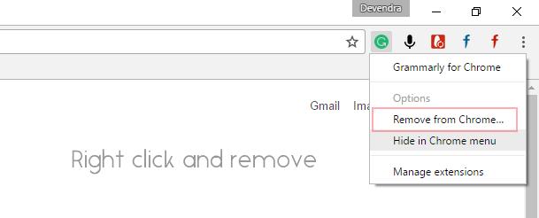Downgrade Chrome extension