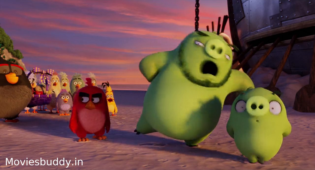 Movie Screenshot of The Angry Birds Movie