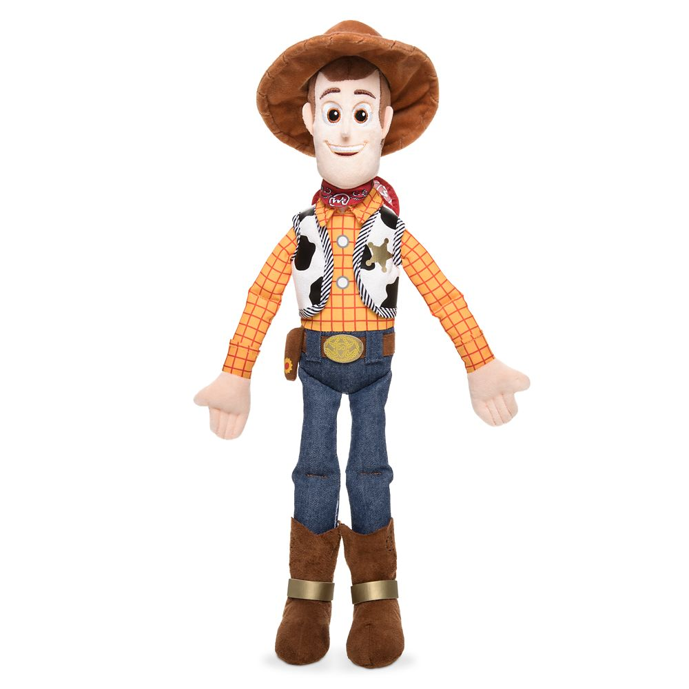 Woody Plush – Toy Story 4 – Medium – 18''