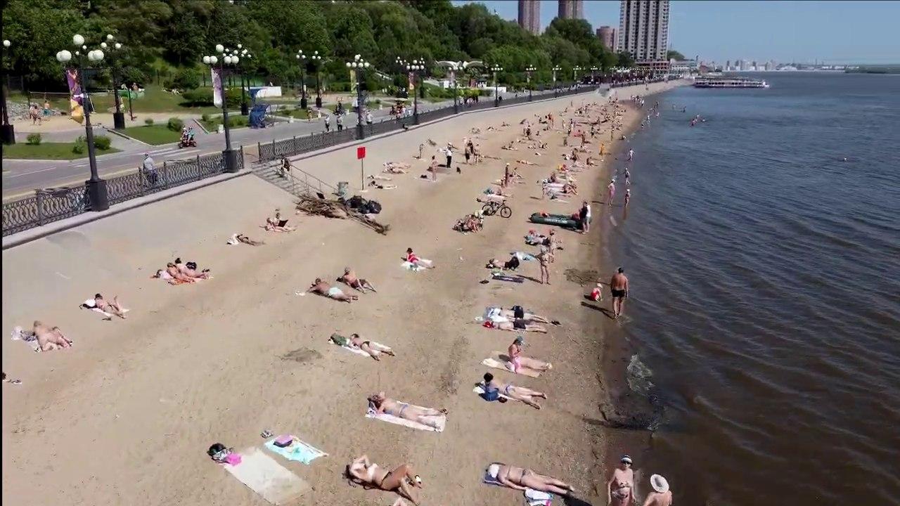 Два места для купания утвердили в Хабаровске