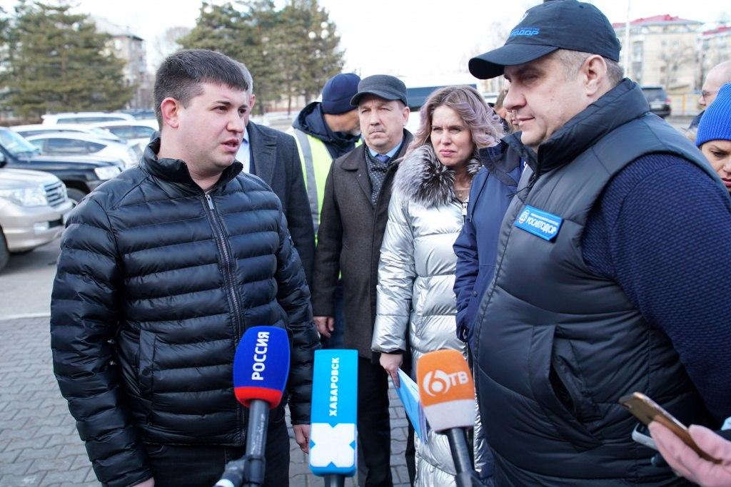 Качество дорог в Хабаровске контролирует Федеральное дорожное агентство