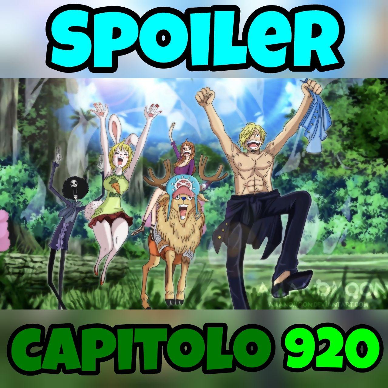 One Piece: Spoiler capitolo 920