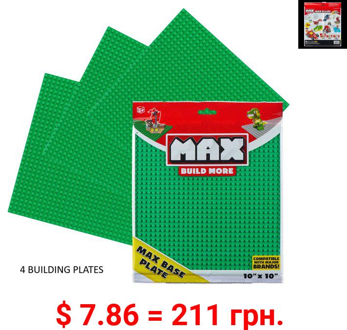 MAX Build More Building Bricks Baseplate 10