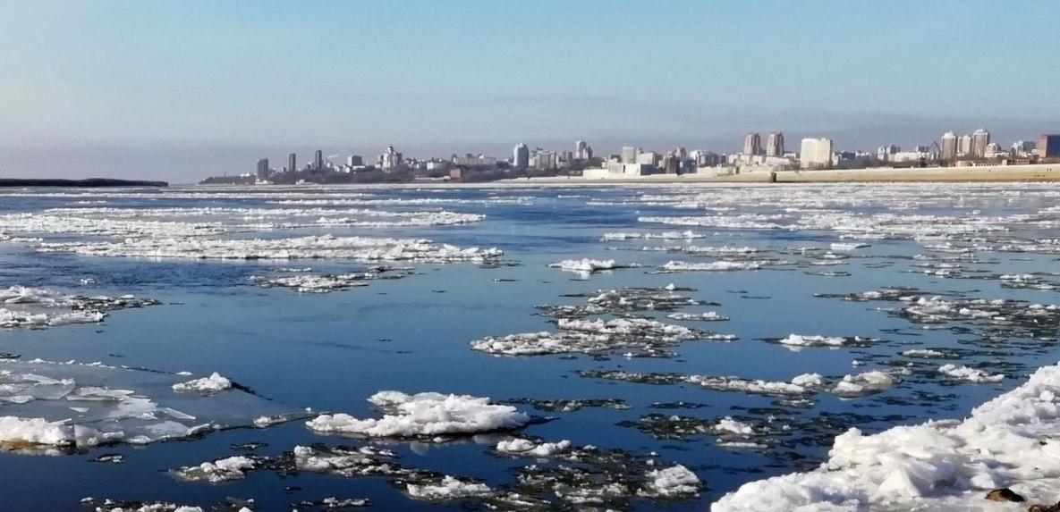 Вода у берегов Хабаровска поднимется до 3,5 метра
