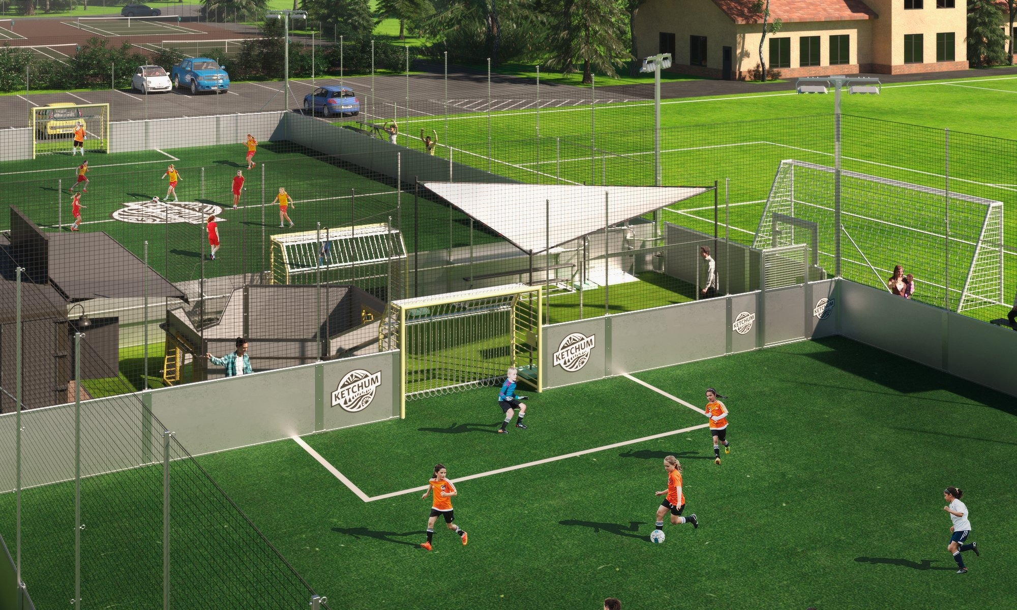 Artificial Turf: Intro to the Beautiful Soccer Fields Available