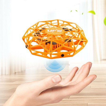 Best Gifts Mini Drone for Kids Adults, Flying Ball Hand Controlled Quadcopter Light Up Flying Toys, UFO Flying Ball Drone Toys with 360°Rotating Helicopter Outdoor Toys Holiday Birthday Gifts