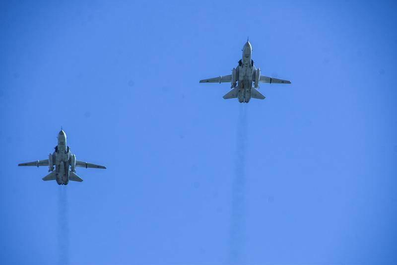В небе над Хабаровским краем прошли учения ВВС и ПВО