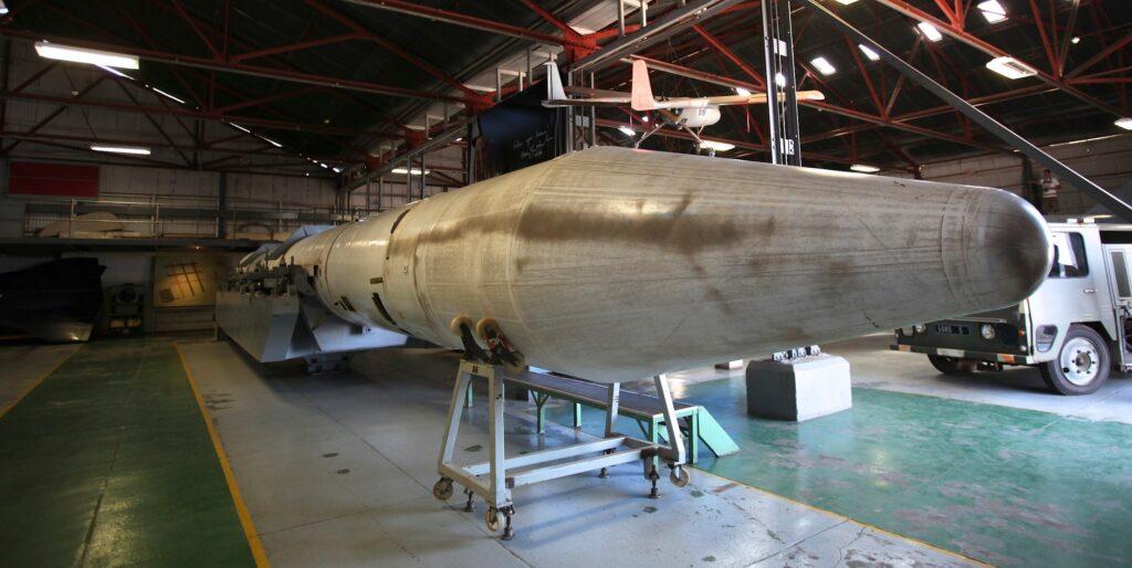 Eine südafrikanische Atombombe im Depot