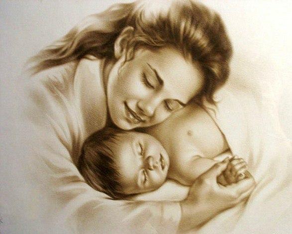 Картинки о материнской любви к дочери, открытки валентинов