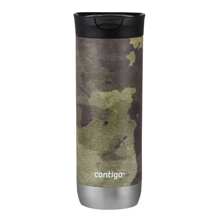 Contigo Couture Stainless Steel Travel Mug 20 Oz, Camouflage