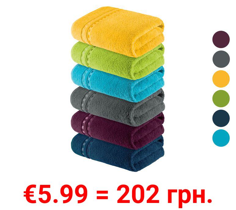 MIOMARE® Duschtuch, 70 x 140 cm, aus reiner Baumwolle