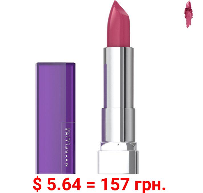 Maybelline Color Sensational The Creams, Cream Finish Lipstick Makeup, Blissful Berry, 0.15 oz.