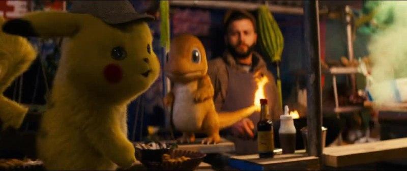 Movie Screenshot of Pokémon Detective Pikachu