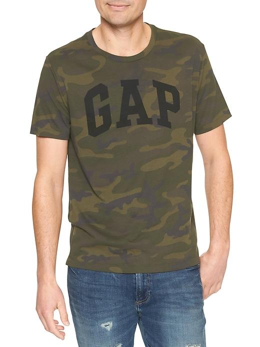 Camo Gap Logo T-Shirt