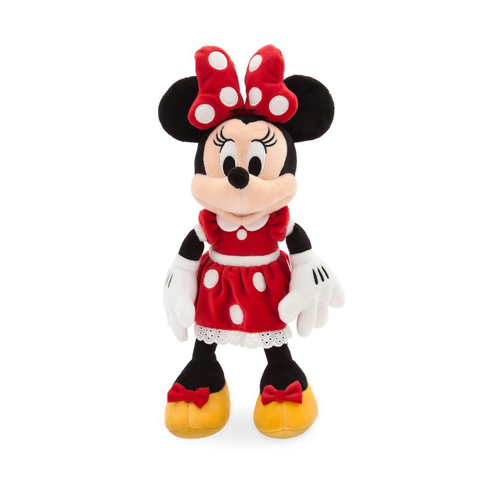Minnie Mouse Plush – Red – Small – 14''