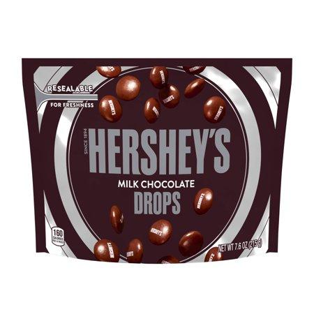 Hershey's Drops, Milk Chocolate Candy, 7.6 Oz