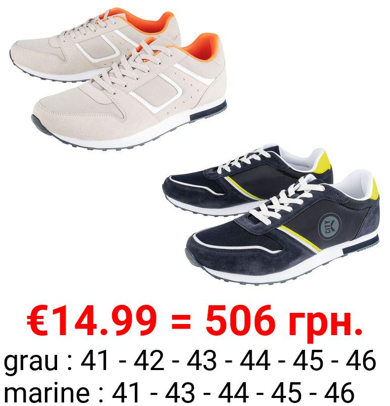 LIVERGY® Sneaker Herren, mit leichter Laufsohle