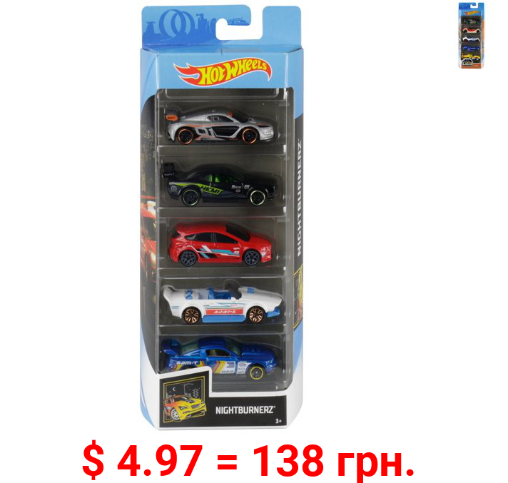 Hot Wheels 5-Car Collector Gift Pack