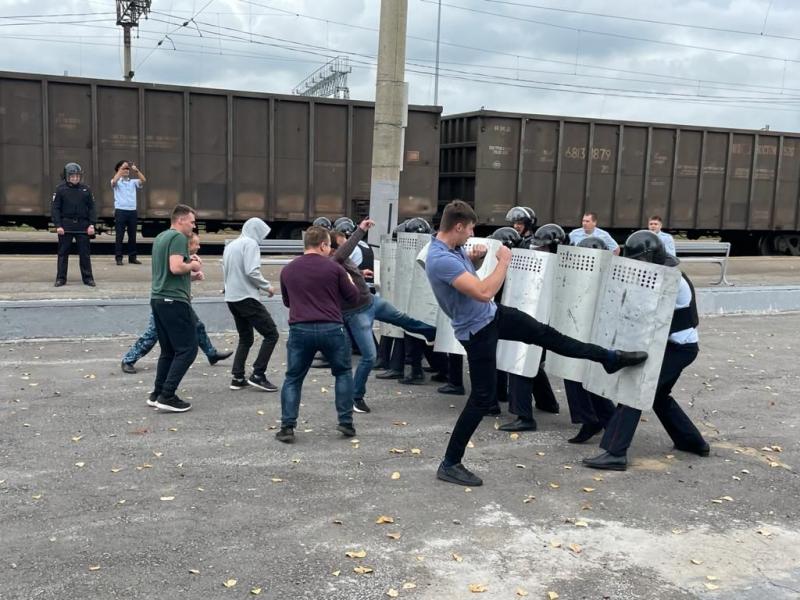 На полицию Хабаровска напали неизвестные лица