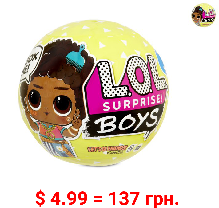 L.O.L. Surprise! Boys Series 3 Doll with 7 Surprises