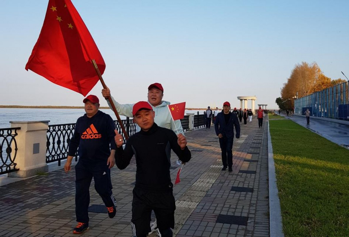 Дегтярёв ждет миллион китайцев в Хабаровске